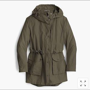 Jcrew Perfect Rain Jacket Small